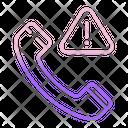Calling Error Icon