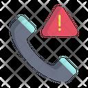 Artboard Calling Error Phone Error Icon