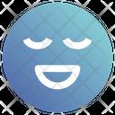 Calm Face Smiley Icon