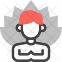 Calm Meditation Relax Icon