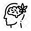 Brain Leaf Man Icon