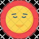 Calm Emoji Emoticon Emotion Icon