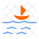 Calm Sea Icon