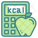 Calorie Calculator Calorie Apple Apple Icon