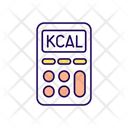 Calorie Calculator Calorie Count Icon