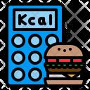 Calories Calculator Calculating Icon