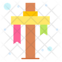Calvary Cross Christian Icon