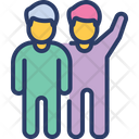 Camaraderie Friendship Fellowship Icon