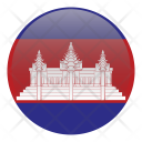 Cambodia National Country Icon