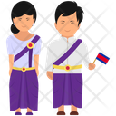 Cambodian Outfit Cambodian Clothing Cambodian Dress Icon