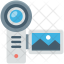 Camcorder Camera Handy Icon