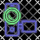 Camcorder Camera Handy Cam Icon