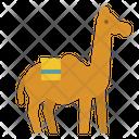 Camel Animal Zoo Icon