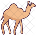 Desert Animal Camel Herbivorous Animal Icon