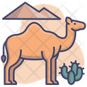 Animal Zoo Desert Icon