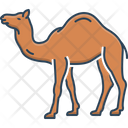 Camel Caravan Sand Icon