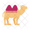 Camel Transport Dessert Icon