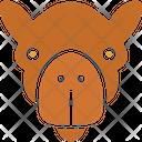 Camel Bactrian Camel Animal Icon