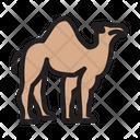 Camel Dessert Animal Icon