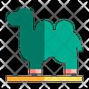 Camel Animal Desert Icon