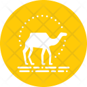 Camel Ride Desert Icon