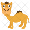 Camel Animal Desert Icon