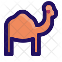 Camel Humps Desert Icon