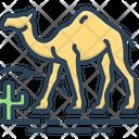 Camel In Desert Camel Desert Icon
