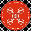 Camera Drone Explore Icon