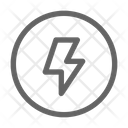 Camera Flash Lightning Icon