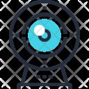 Camera Communication Digital Icon
