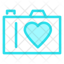 Camera Love Heart Icon