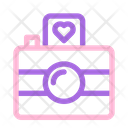 Camera Photography Love Icon
