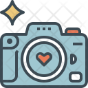 Wedding Photography Camera Icon