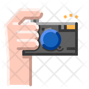Camera Lens Technology Icon