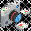 Camera Electronic Camera Photoshoot Equipment Icon