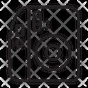 Camera Photography Pocket Icon