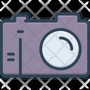 Camera Aperture Digital Icon