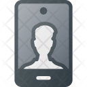 Camera Front Selfie Icon