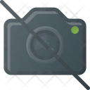 Camera No Photography Icon