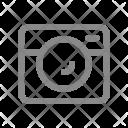 Photo Camera Recording Icon