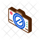 Travel Camera Backpack Icon