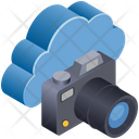 Cloud Computing Camera Icon