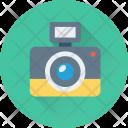Camera Flash Photography Icon