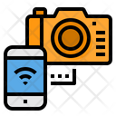 Camera Internet Of Things Wireless Icon