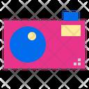 Camera Shopping Ecommerce Icon