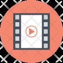 Camera Reel Cinema Icon