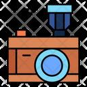 Camera Photo Led Flash Icon