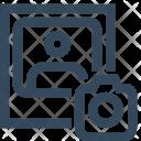 Camera Upload Image Icon