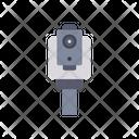 Camera Civil Engineer Construction Icon
